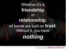 Relationship Quotes Sayings Broken Trust QuotesGram
