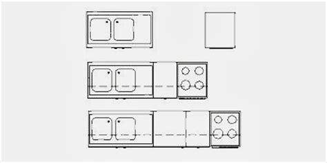 offre emploi cuisine blocs de 8 types de mobilier de cuisine fichier autocad à