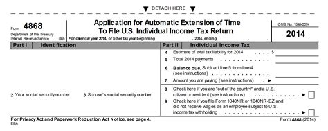 how do you download irs form 4868 for a tax extension
