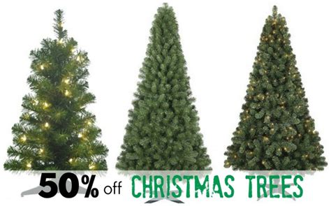 get 50 off christmas trees prices starting at 7