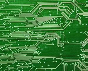 computer circuit board in green stock photo © kayros ...