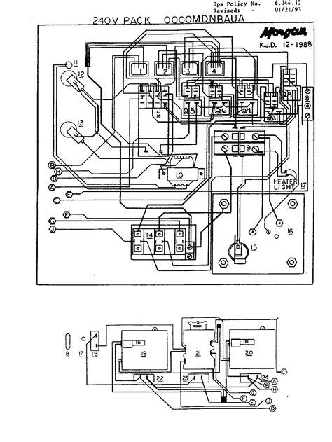 jacuzzi hot tub wiring diagram