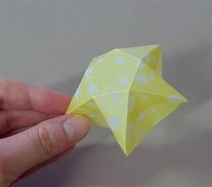 Origami Stern 5 Zacken : origami sterne 3d falten faltanleitung lichterkette basteln sterne selber machen anleitung diy ~ Watch28wear.com Haus und Dekorationen