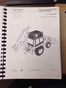 Case 580c Loader Backhoe Parts Book Manual F1283