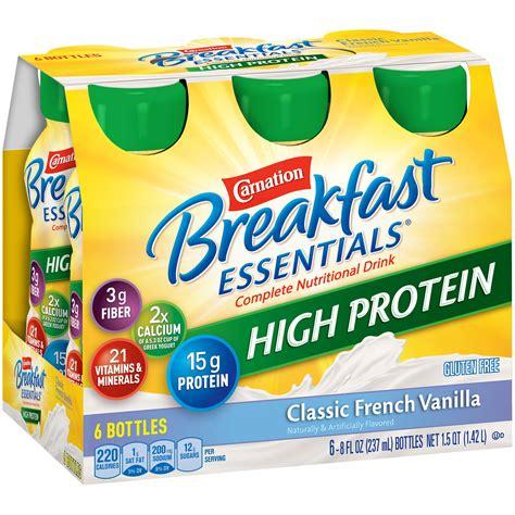 Amazon.com : Carnation Breakfast Essentials High Protein