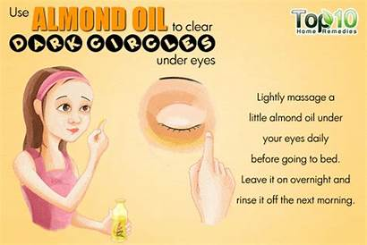 Circles Dark Almond Rid Oil Remedies Remedy