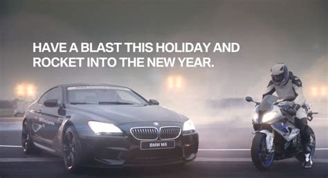 bmw commercial carads christmas edn theadsgarage