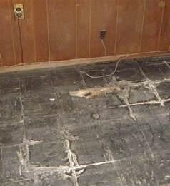 Asbestos Floor Tiles Basement
