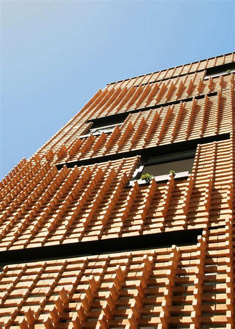 Brick Pattern House  Alireza Mashhadmirza Archdaily