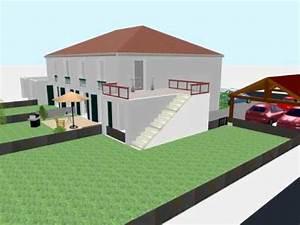 essai d39utilisation de sweethome3d exterieur appartement With sweet home 3d meubles