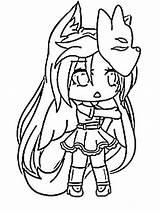 Gacha Coloring Pages Anime Unique Surprise sketch template