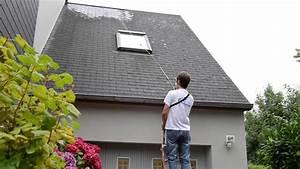 Perche Telescopique Nettoyage Toiture : demoussage toiture youtube ~ Premium-room.com Idées de Décoration