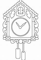 Clock Coloring Alarm Printable Coloringpagesfortoddlers Colouring Sheets sketch template