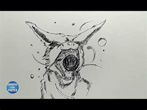 easy   draw kurama kyubi drawing doodle