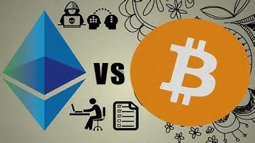 Bitcoin payments are designed to resemble cash. Bitcoin Vs Ethereum Explained