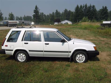 1986 Toyota Tercel by 1986 Toyota Tercel 4wd Wagon 53 K Original Classic