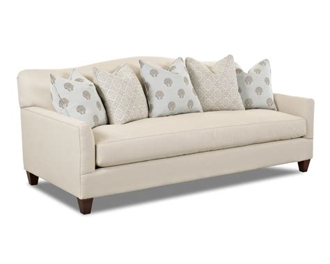 Klaussner Leighton D31300 S Contemporary Stationary Sofa