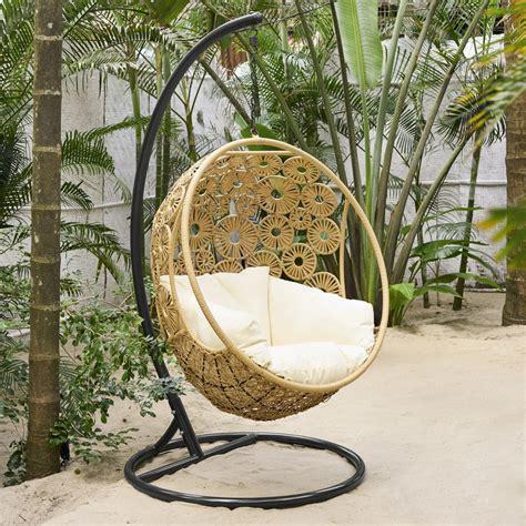 fauteuil suspendu de jardin ibis maisons du monde