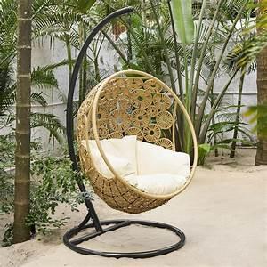 Fauteuil Suspendu Jardin : fauteuil suspendu de jardin ibis maisons du monde ~ Dode.kayakingforconservation.com Idées de Décoration