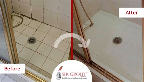 family avoids costly renovation with a grout recoloring on