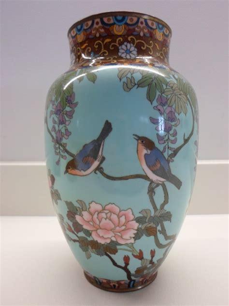 japanese cloisonne vase large decorative japanese cloisonne vase meiji period