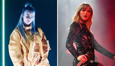 billie eilish break taylor swift album   year