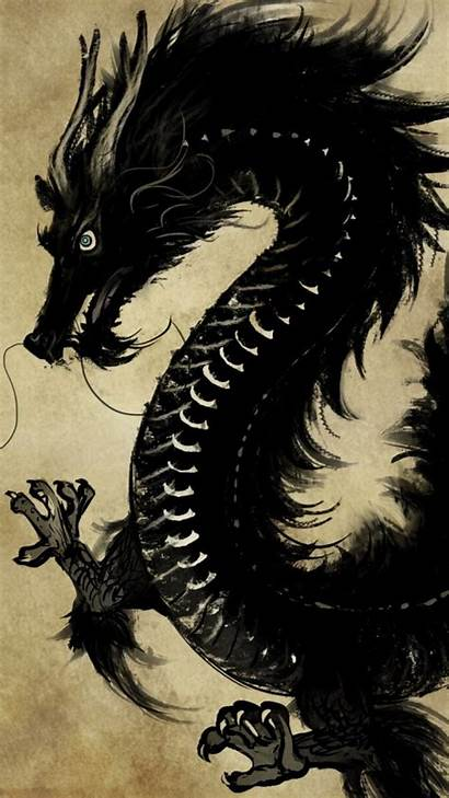 Dragon Chinese Iphone Wallpapers Asian Samurai 4k