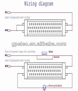 Led Tube Light Wiring Diagram