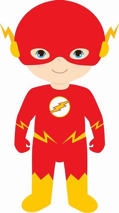 Superhero Hero Clipart Office Flash Super Transparent
