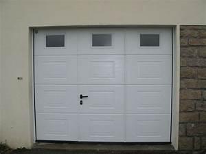 eyma menuiserie charpente charpentier menuiseries With porte de garage enroulable avec porte intérieure seule