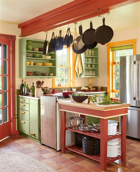 country kitchen colors trends  interior
