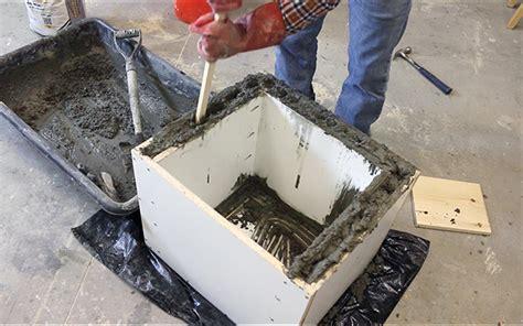 concrete log holder diy projects  pete
