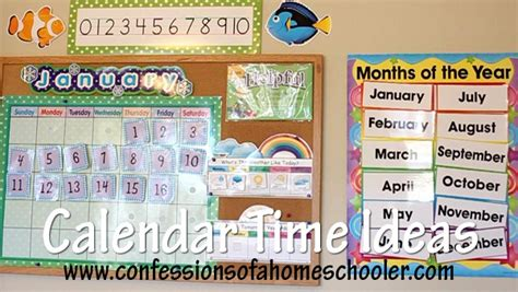 calendar bulletin board setup amp use confessions of a 970 | calendartime