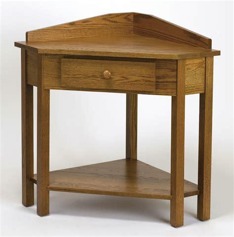 Mission Corner Table  Dutch Haus Custom Furniture