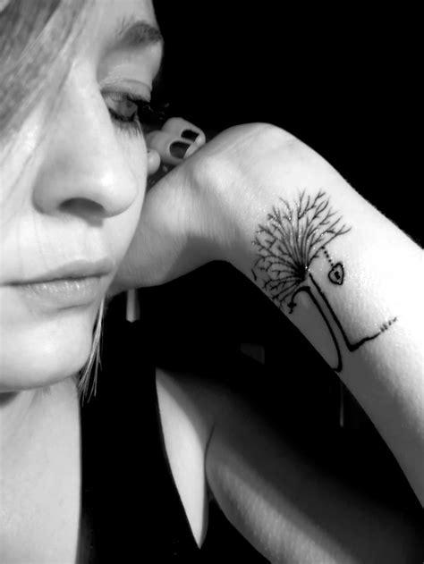 wrist tree girl tattoos girl tattoos