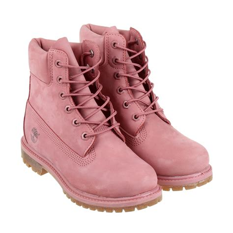 Timberland Earthkeepers Rugged 6 Boot by Timberland Boots Ladies Pink Aranjackson Co Uk