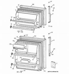 Doors Diagram  U0026 Parts List For Model Ctx18bacerww Hotpoint