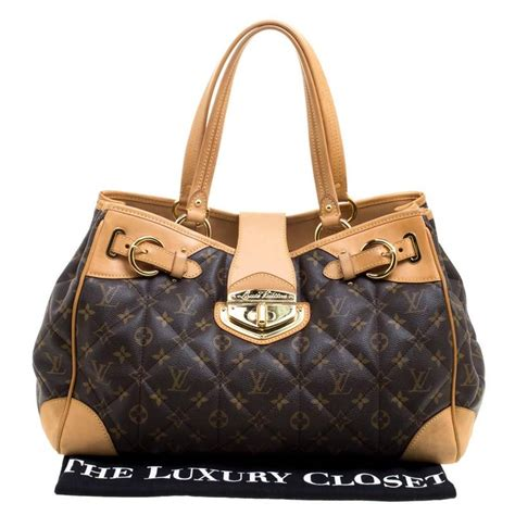 louis vuitton monogram canvas etoile shopper bag  stdibs