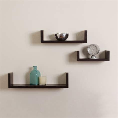 white desk for sale floating shelves u walnut brown finish set of 3