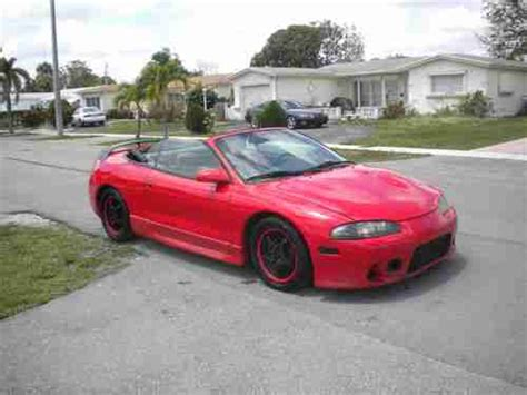 1997 Mitsubishi Eclipse Spyder by Buy Used 1997 Mitsubishi Eclipse Spyder Gst Convertible