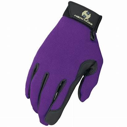 Glove Purple Performance Gloves Heritage