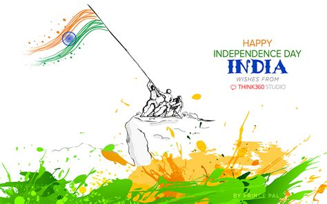 india independence day wallpaper  prince pal  behance