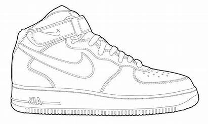 Nike Coloring Shoes Pages Tennis Pritable Ecolorings