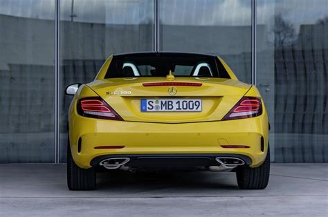 mercedes slc final edition top speed