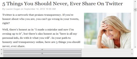 5 Things You Should Never Put On A Resume by 5 Things You Should Never Post On Social Media