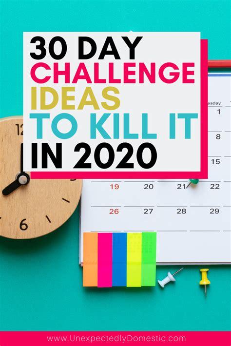 ultimate list   day challenge ideas   change