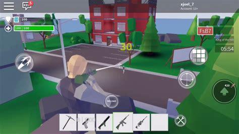 playing fortnite  roblox strucid fortnite youtube