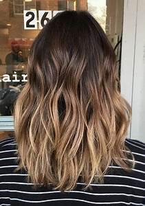 Ombré Hair Marron Caramel : fryzury ombre 2018 ~ Farleysfitness.com Idées de Décoration