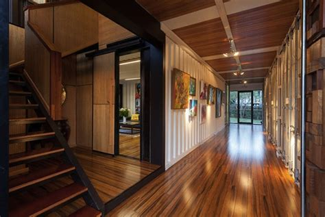 build homes interior design wooden interior design for stylish shipping container home