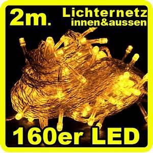 Lichterkette Weihnachtsbaum Außen : 160 led lichterkette lichternetz gelb innen aussen ip44 weihnachtsbaum netz ebay ~ Orissabook.com Haus und Dekorationen
